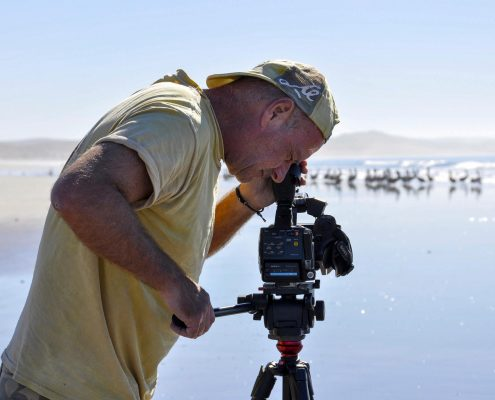 John Boyle Filming Islands in a Desert Sea