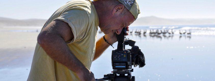 John Boyle Filming Islands in a Desert Sea