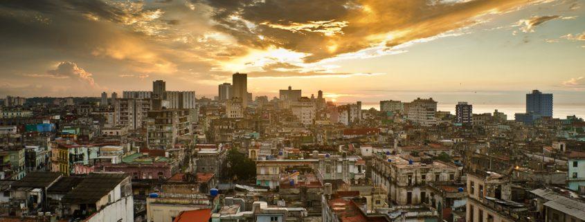Cuba Havana Sunset