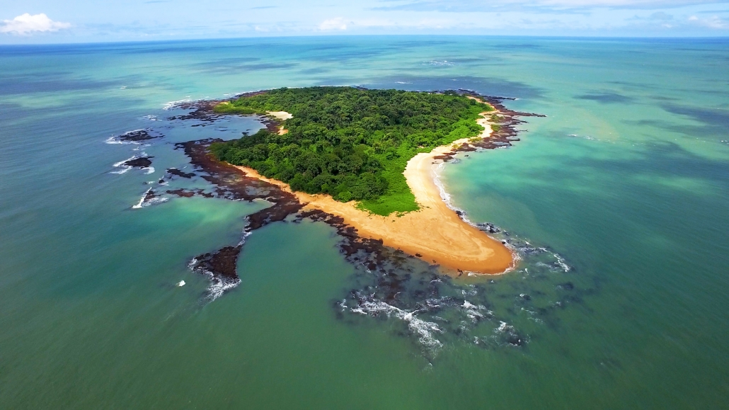 Remote African Island