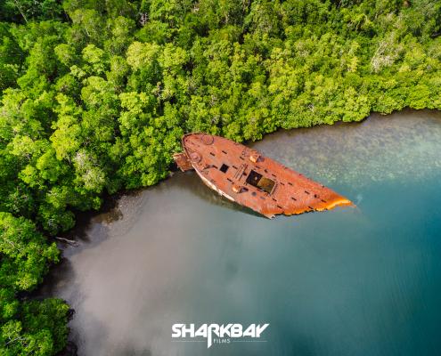 Solomon Islands Landing Ship 342 TJ Hughes Shark Bay Films