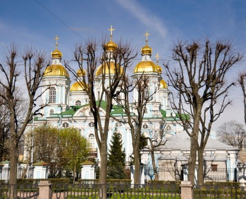 St. Petersburg's Golden Domes