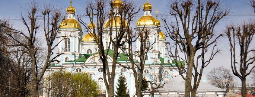 St. Petersburg's Golden Domes